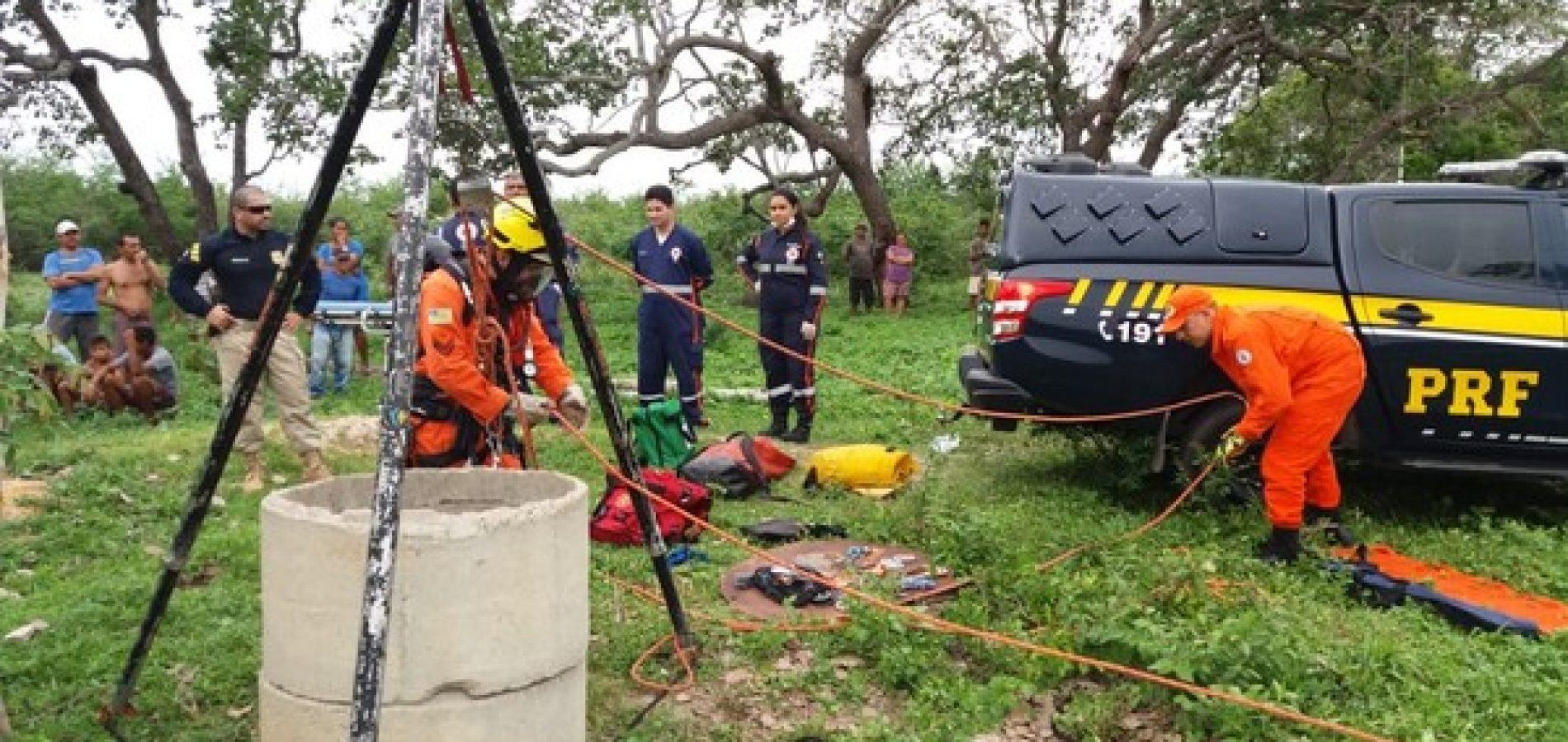 Mulher cai em poço de 20 metros e sobrevive no Piauí