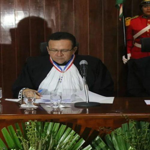 Novo presidente do TJ-PI toma posse e diz que julgamento de casos de violência doméstica será prioridade