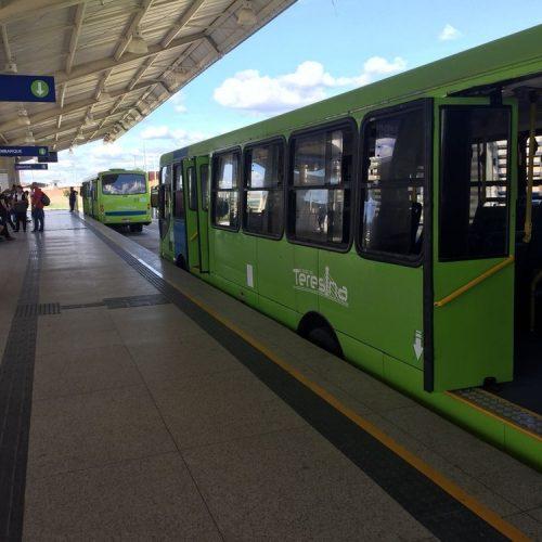 Greve no transporte público de Teresina inicia nesta sexta e veículos cadastrados darão suporte