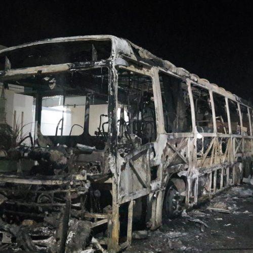 6ª noite de ataques no Ceará tem explosão em ponte e ônibus incendiados