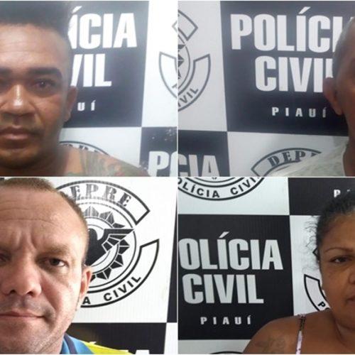DEPRE prende quatro pessoas na Operação Cidade de Deus