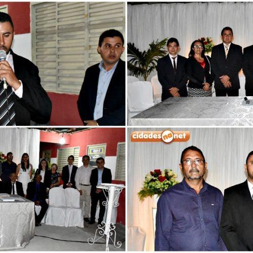 Vereador Adonelys Araújo é eleito e empossado presidente da Câmara de Vila Nova do Piauí
