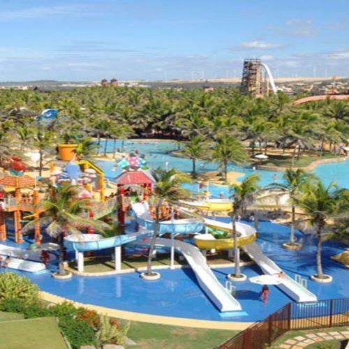 Parque Aquático de cidade do Piauí deve ser entregue em julho de 2019