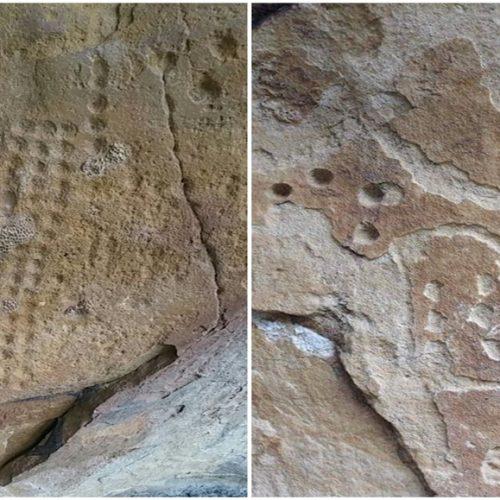 Professor diz ter encontrado pinturas rupestres em cidade do Piauí
