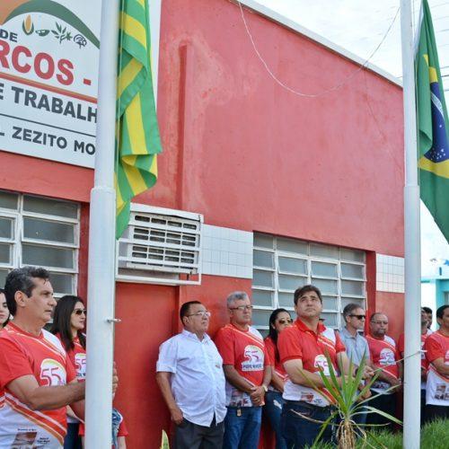 No dia do aniversário, momento cívico e competições movimentam Padre Marcos