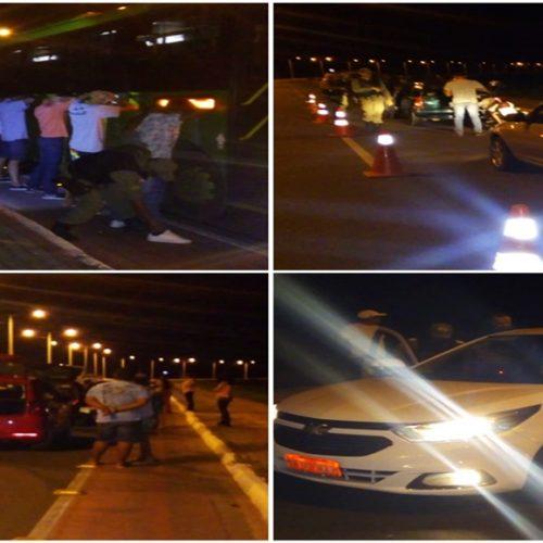 PM deflagra operação e cinco pessoas são detidas