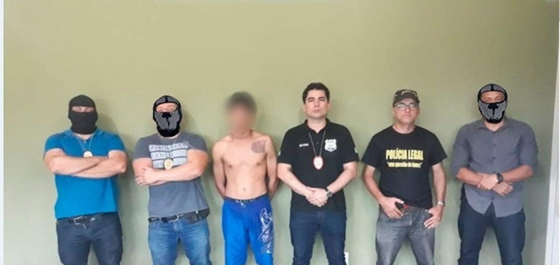 Jovem de 19 anos acusado de homicídio é preso no Piauí