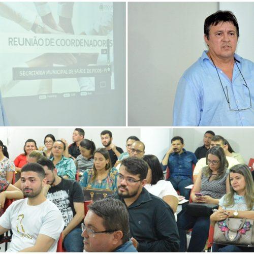PICOS | Saúde faz reunião de planejamento; Vamos aproximar os serviços da população, diz secretário
