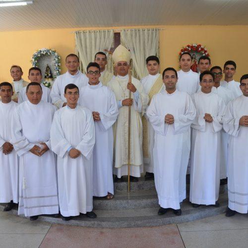 Termina o estágio pastoral dos seminaristas em Caridade do Piauí
