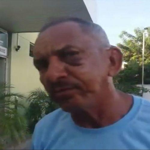 Suspeito de espancar a mãe leva tiro no pé após agredir sargento