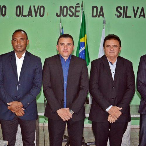 Em Massapê, vereador Rafael toma posse para o 2º mandato na presidência na Câmara