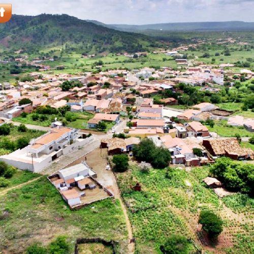 DO ALTO | Veja imagens aéreas da cidade de Santana do Piauí