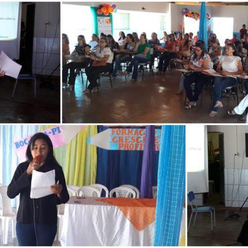 Secretaria de Educação de Bocaina realiza semana pedagógica com os professores