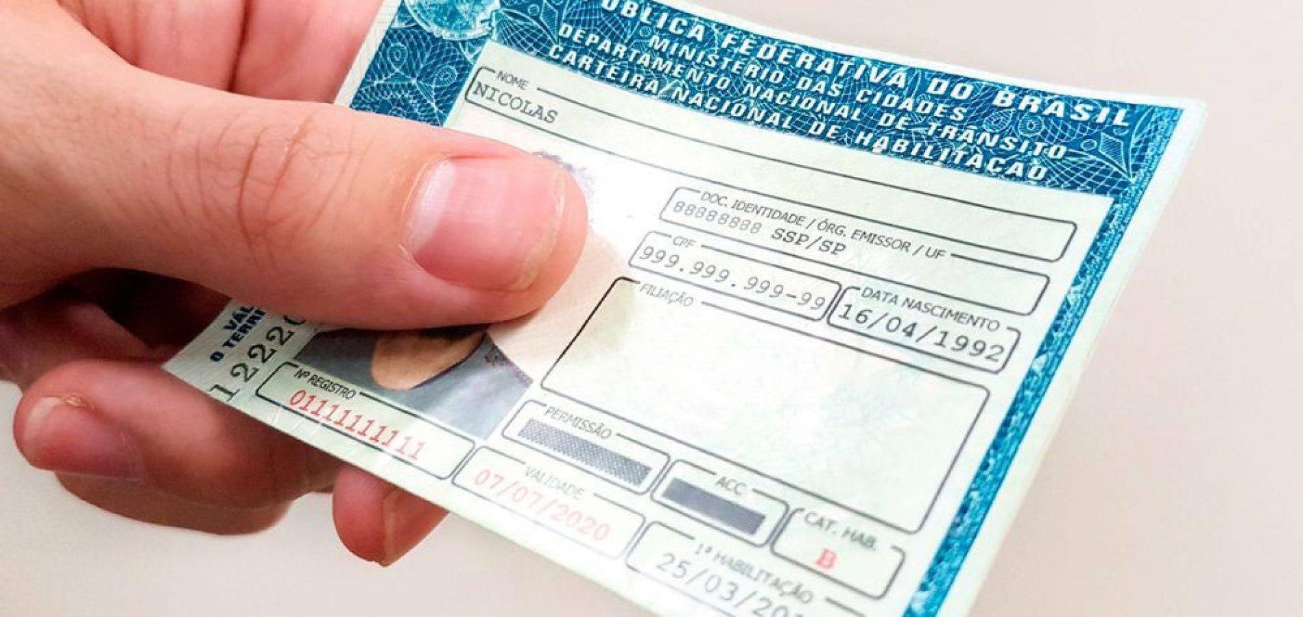 Governo propõe dobrar limite da CNH para 40 pontos