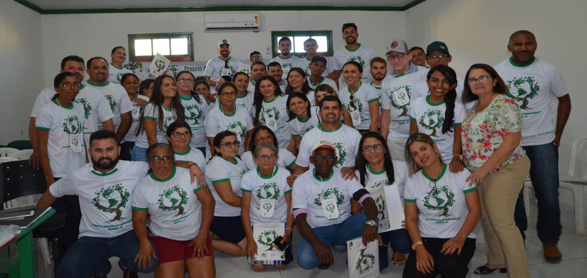 Prefeitura de Jacobina do Piauí desenvolve Projeto de Educação em Saúde Ambiental