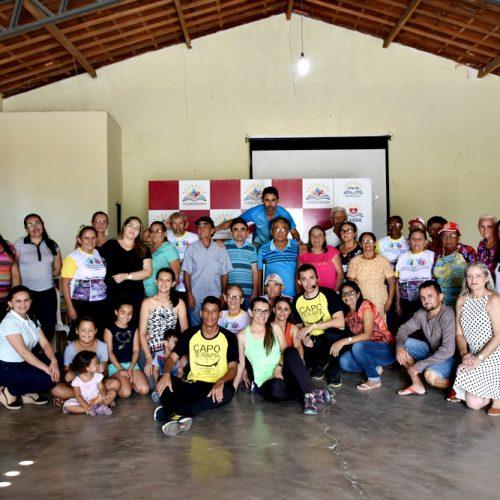 Secretaria de Assistência Social de Vila Nova retoma atividades do grupo de Idosos com Capoterapia; fotos