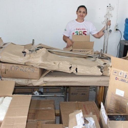 Saúde de Jaicós recebe equipamentos para Hospital Florisa Silva e Centro de Especialidades Odontológicas