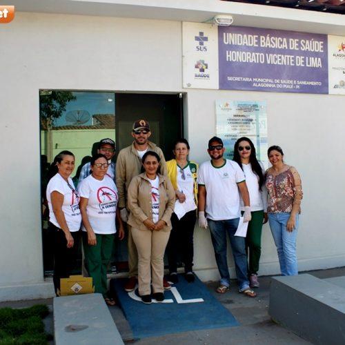 Secretaria de Saúde de Alagoinha do Piauí intensifica campanha de vacinação antirrábica