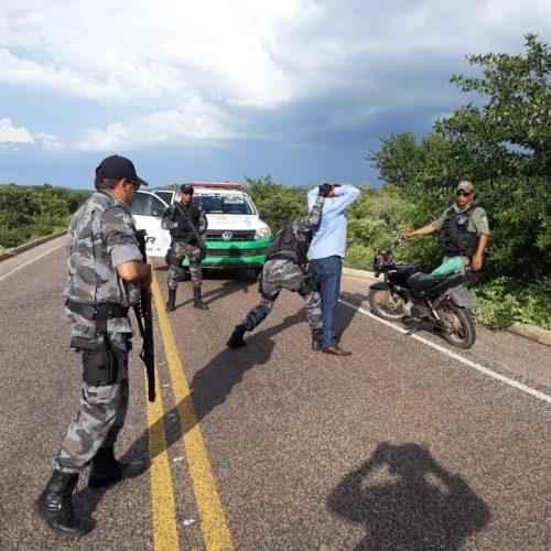 Em nova operação, PM apreende moto adulterada em Patos do Piauí