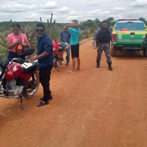 Duas motos são apreendidas na 'Operação Pente Fino' em Patos do Piauí