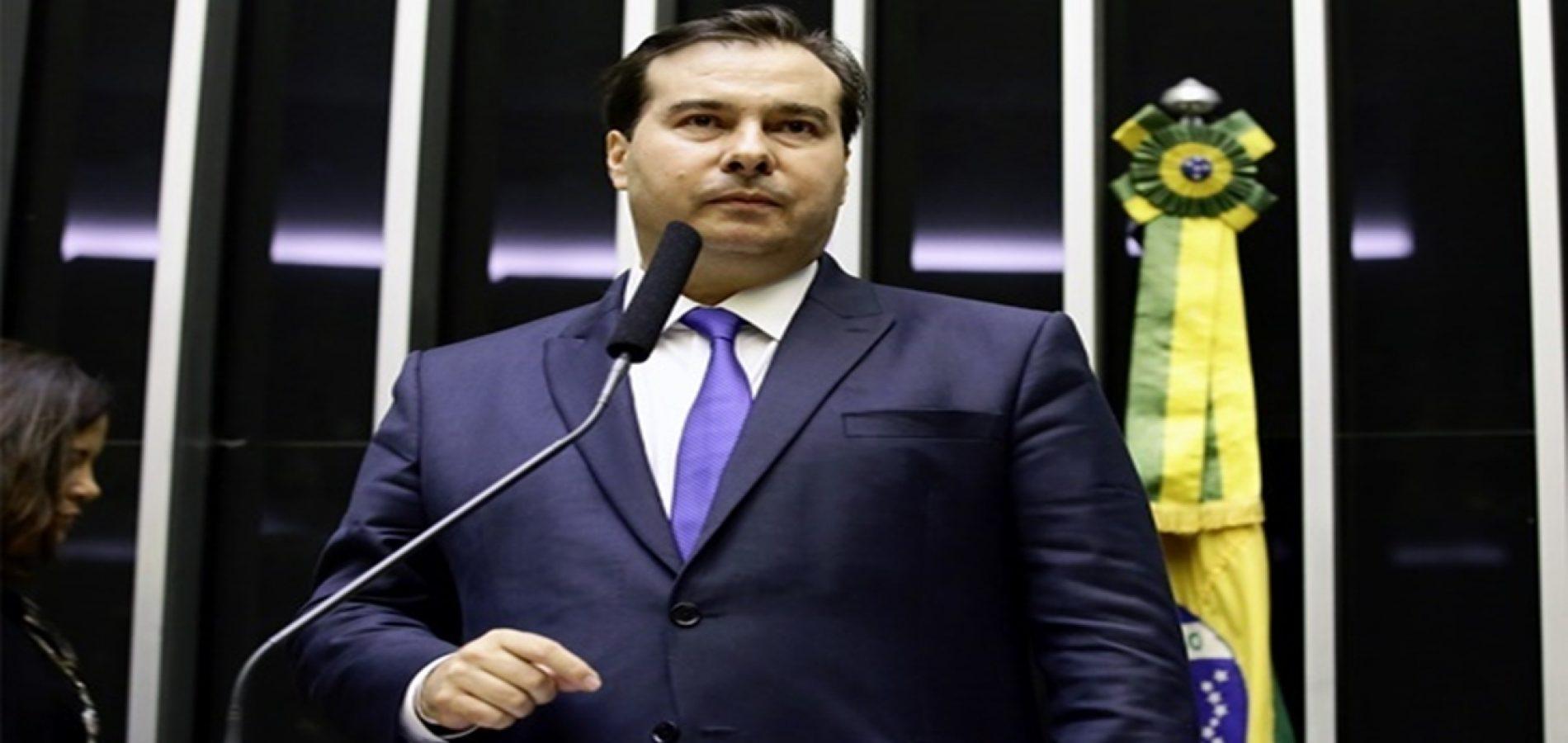 Com 334 votos, Rodrigo Maia é eleito presidente da Câmara dos Deputados
