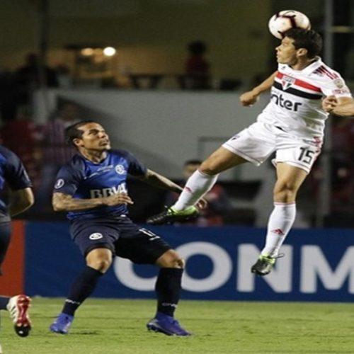 São Paulo só empata com Talleres e está eliminado da Libertadores