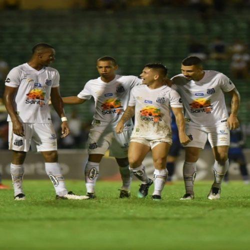 Copa do Brasil: Santos despacha o Altos com goleada por 7 a 1 em Teresina