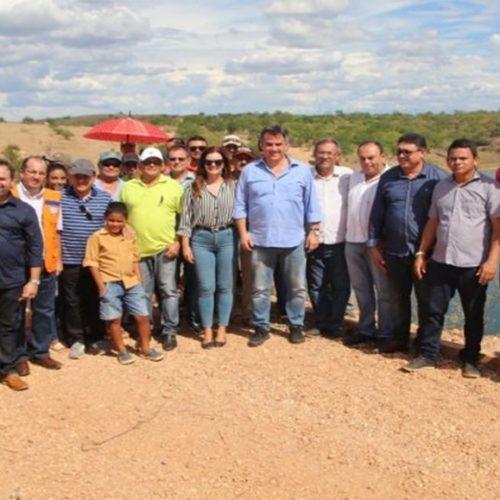 Ciro Nogueira visita barragens de Paulistana e Conceição do Canindé