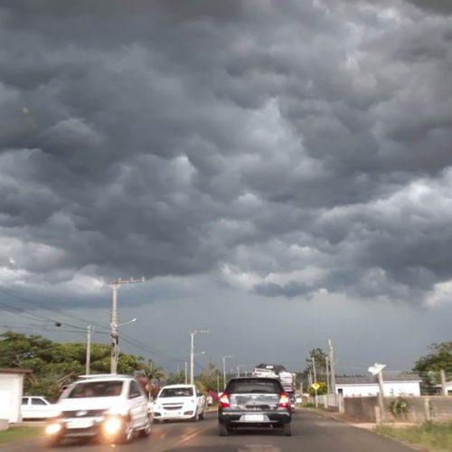 Piauí entra em aviso de temporal nesta quarta-feira (13)