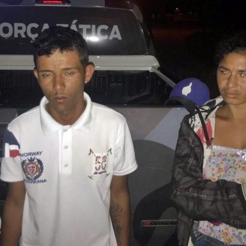 JAICÓS | Homem é preso após ser flagrado com drogas em abordagem policial