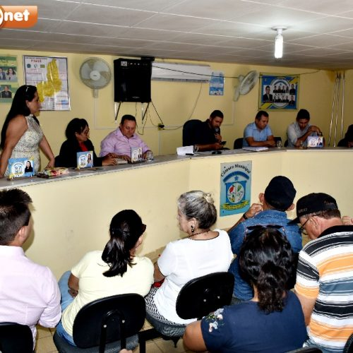 1ª sessão ordinária de 2019 é realizada em Vila Nova com a presença do prefeito Edilson; veja o que foi discutido