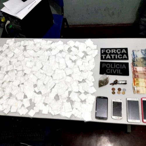 PAULISTANA│Policia prende casal por tráfico de drogas