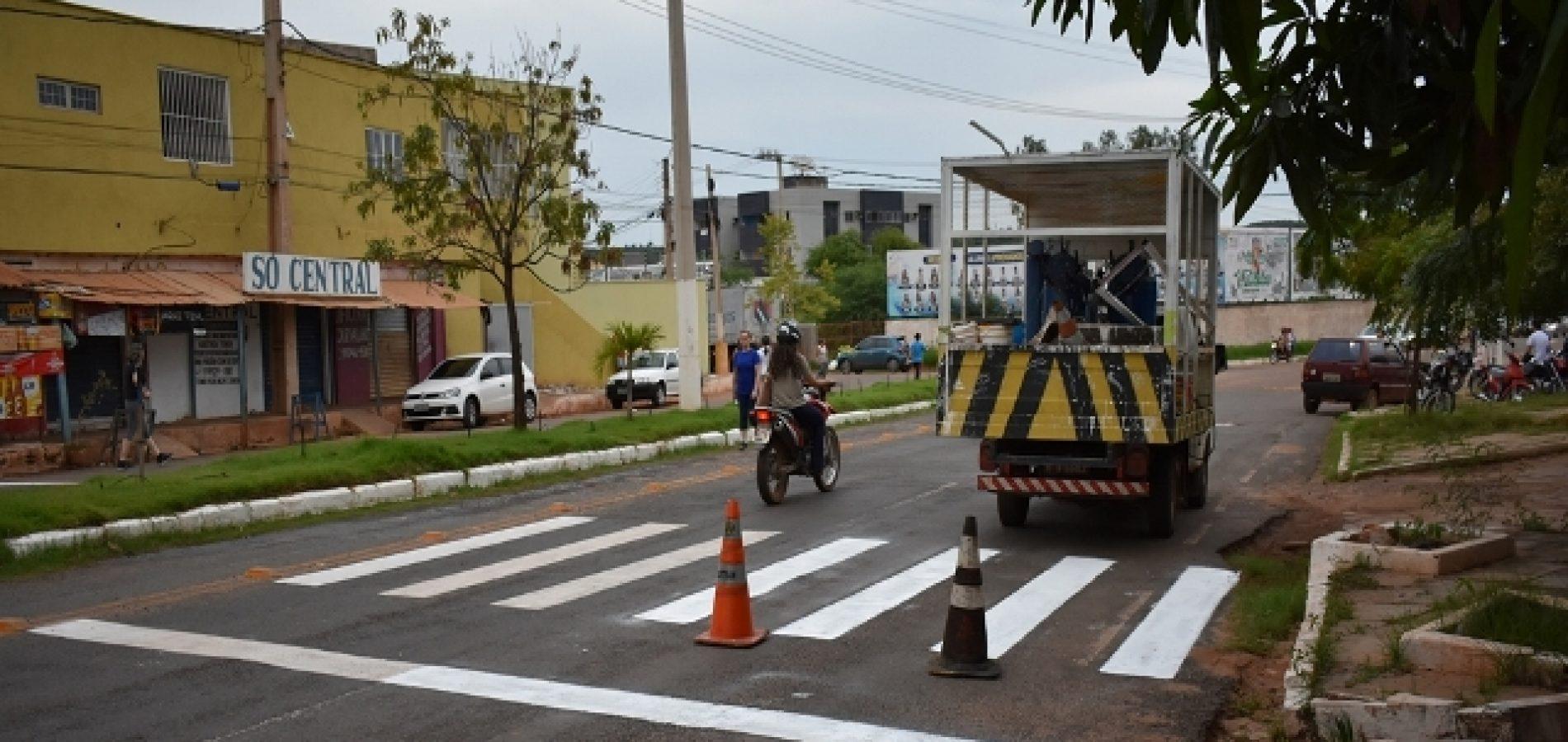 Prefeitura sinaliza ruas de Picos