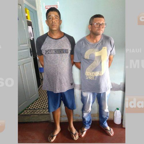 Suspeitos de estelionato e furto em Acauã são presos