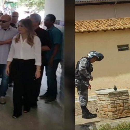 PM é acionada depois de suspeita de bomba contra Wellington Dias em Valença