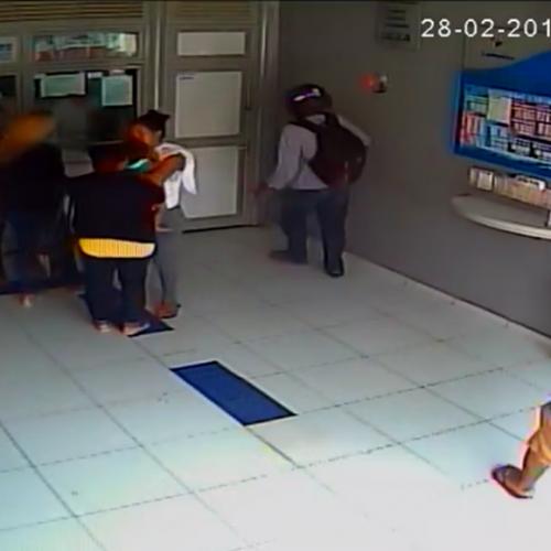 Dupla atira em lotérica e aterroriza moradores de cidade do Piauí