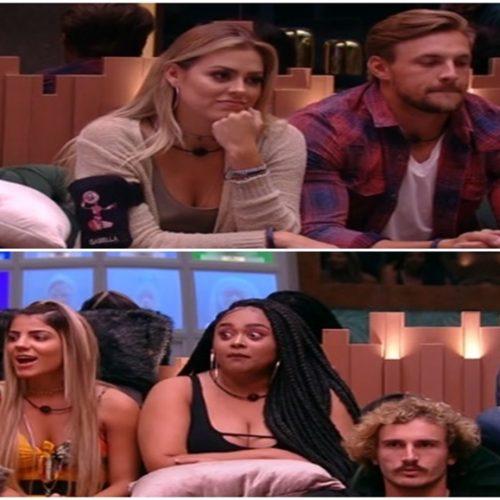 Isabella, Diego e Alan estão na berlinda do Big Brother Brasil 19