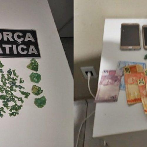QUATRO CONDUZIDOS: Após operação, polícia desarticula bocas de fumo em Picos