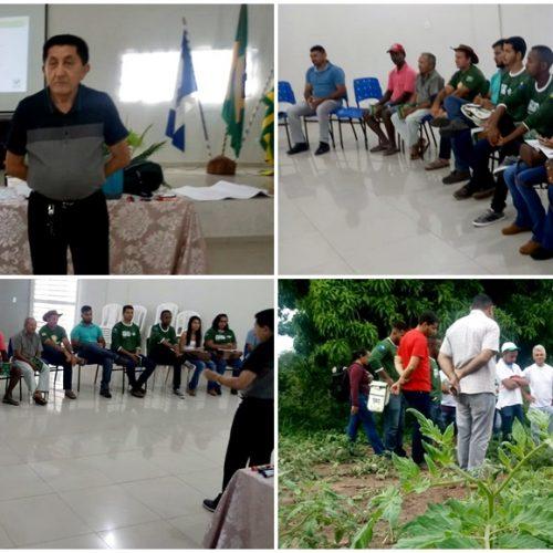 Produtores rurais de Ipiranga do Piauí participam de treinamento e capacitação sobre Irrigação Localizada