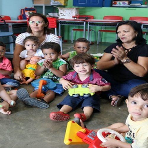 Educação de Santana inicia projeto piloto com turma de Maternal 1