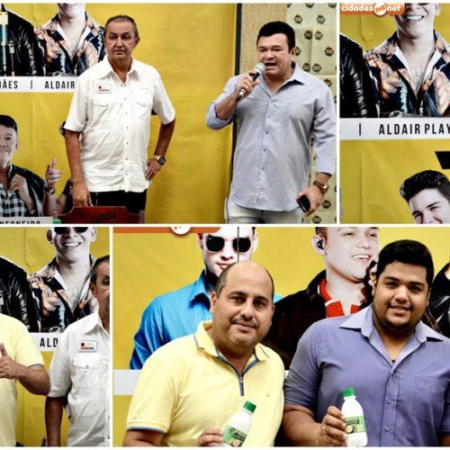 Organização do 6º Picos Fest Berro realiza entrevista coletiva com a imprensa picoense