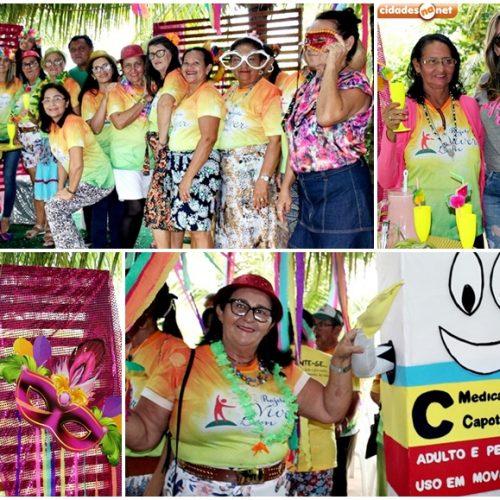 Em Alagoinha do Piauí, grupo Viver Bem participa do 3º Nasf Folia