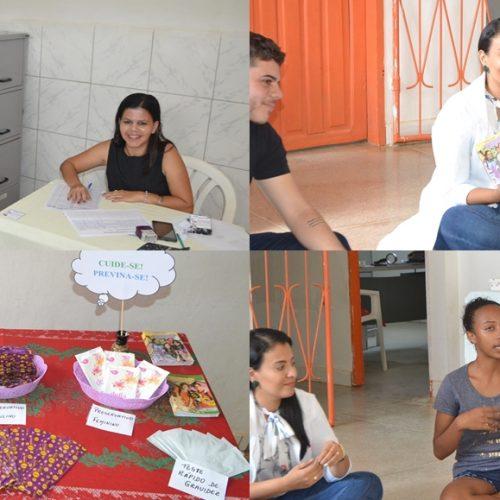 Campanha Nacional de Prevenção da Gravidez na Adolescência é realizada em Simões