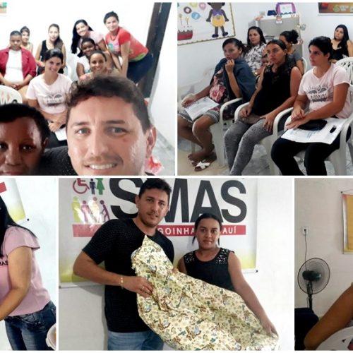 Assistência Social de Alagoinha promove palestra e faz entrega de enxovais para gestantes