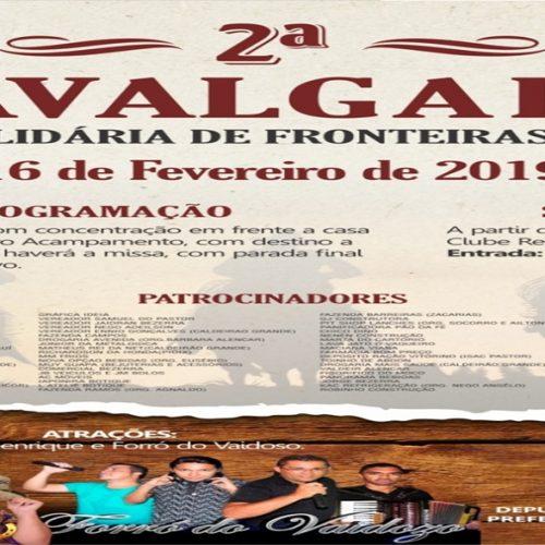 2ª Cavalgada Solidária de Fronteiras será realizada neste sábado (16)