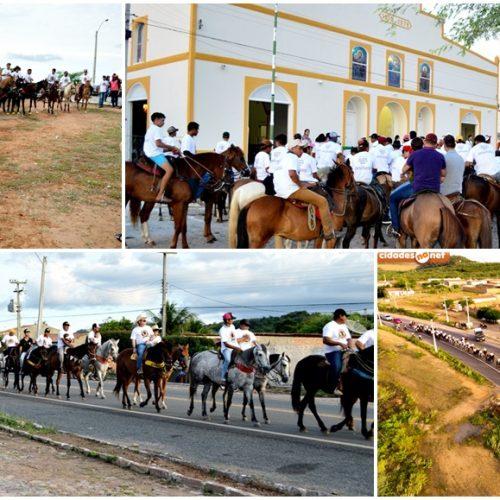 2ª Cavalgada Solidária e missa do vaqueiro são realizadas em Fronteiras; veja fotos