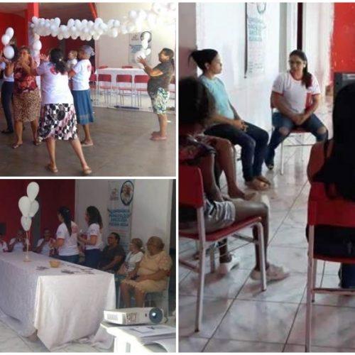 CRAS de Marcolândia promove rodas de conversas sobre 'Janeiro Branco'
