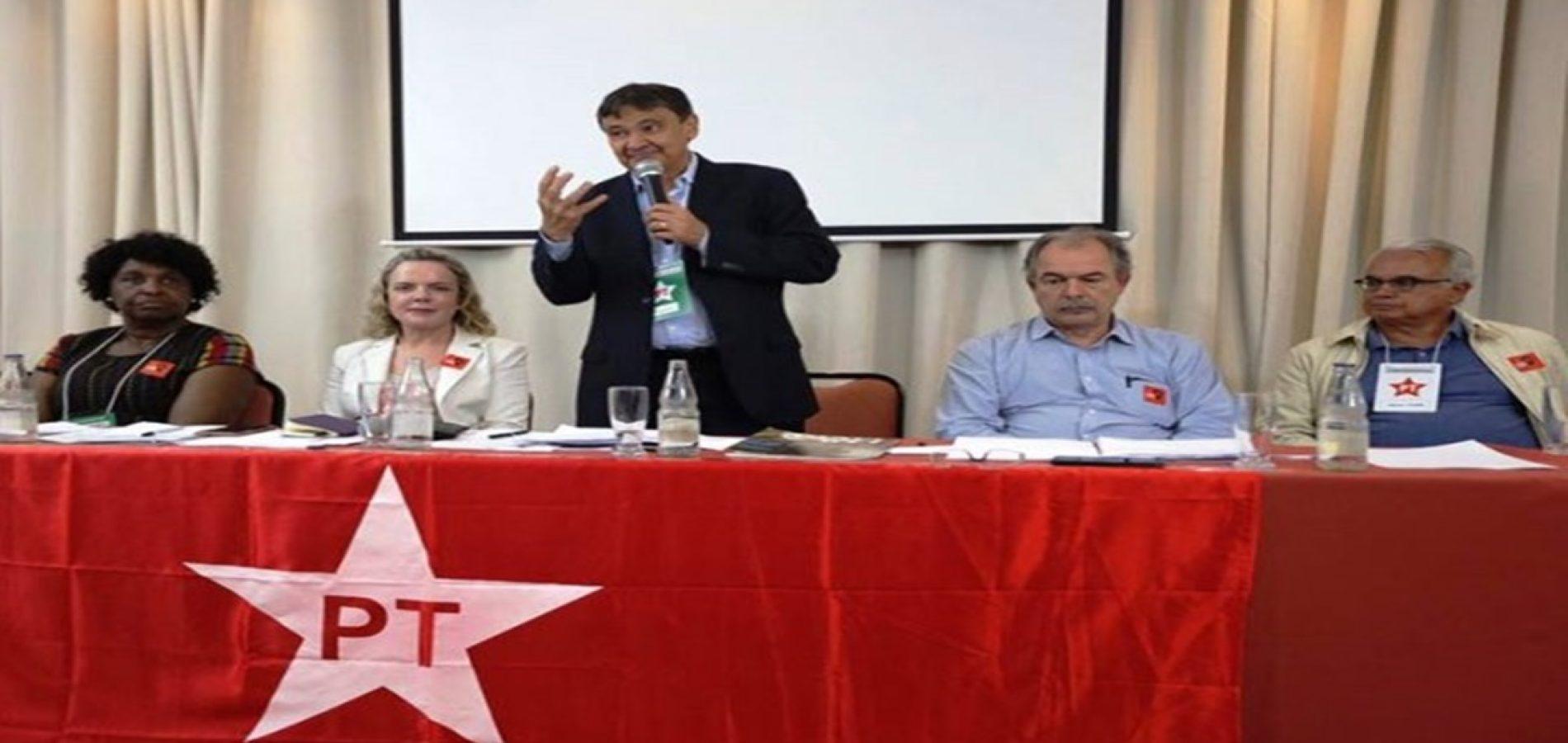 Em aniversário do PT, governador destaca avanços da gestão e lembra Lula