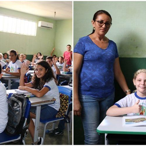 Educação de Santana realiza entrega de fardamentos e novas carteiras escolares