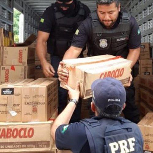 Primo de candidato a prefeito em Pio IX é preso por roubos de carga